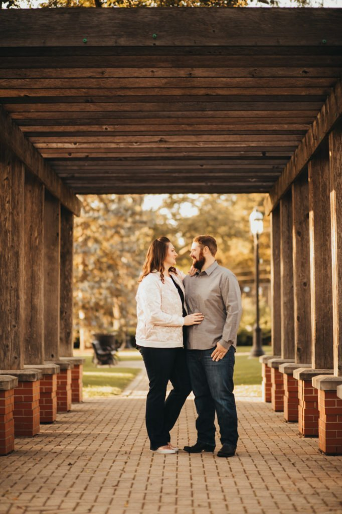 engagement session downtown engagement session engagement ring