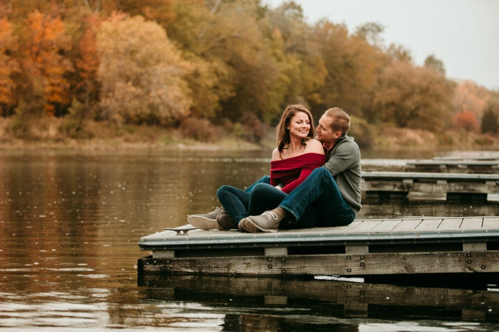engagement session Farm engagement session engagement ring Fall photography