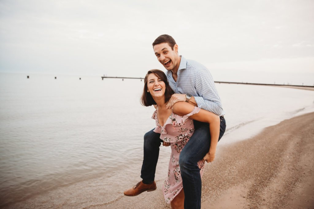 beach engagement session downtown engagement session engagement ring