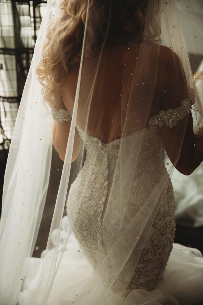 today I marry my best friend bride getting ready wedding dress, wedding veil