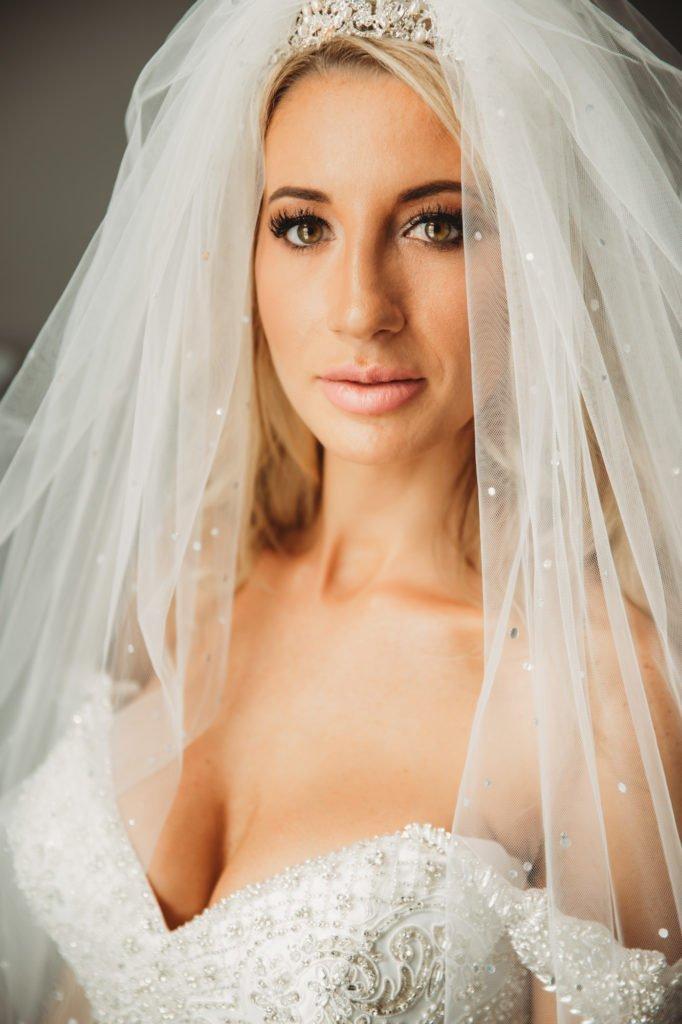 today I marry my best friend bride getting ready wedding dress, wedding veil bridal portraits